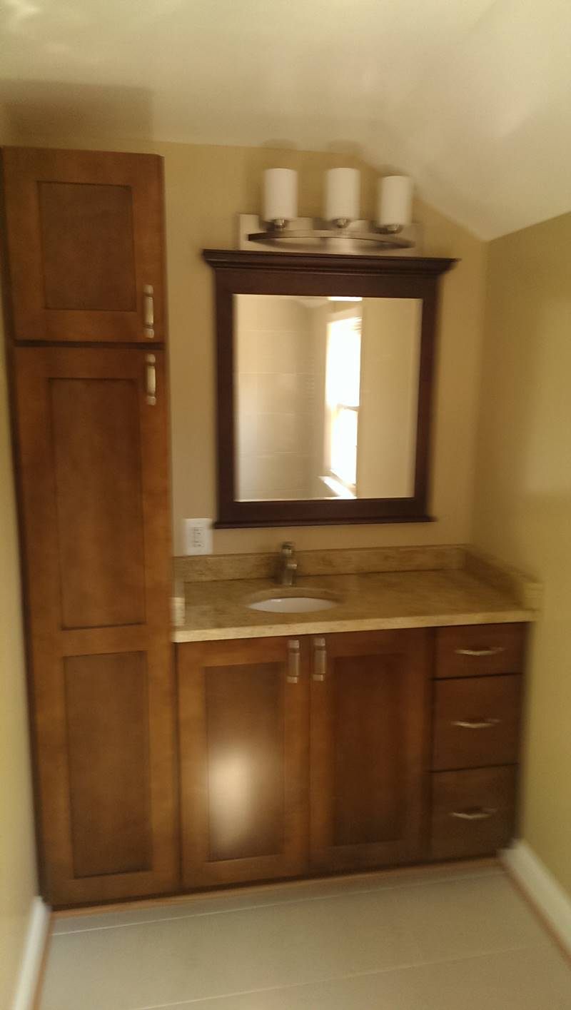 Attic Full Bathroom Rockville MD