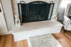 Living room fireplace ideas